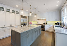 1206-Raleigh-Glenview - Kitchen Wide View - Globex Developments Custom Homes