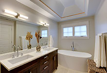 1206-Raleigh-Glenview - Master Bath Lights - Globex Developments Custom Homes