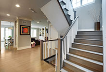 1206-Raleigh-Glenview - Staircase Entry - Globex Developments Custom Homes