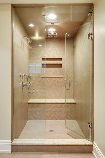 1216-Raleigh-Glenview - Master-Bathroom-Shower - Globex Developments Custom Homes