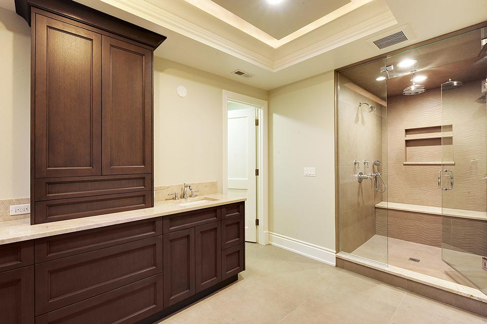 1216-Raleigh-Glenview - Master-Bathroom - Globex Developments Custom Homes