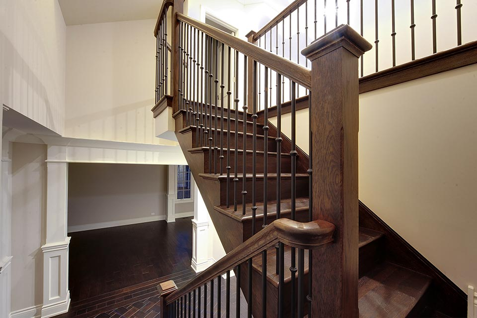 1216-Raleigh-Glenview - Staircase-Detail - Globex Developments Custom Homes