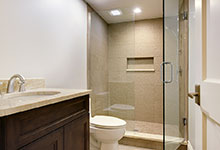 1216-Raleigh-Glenview - Basement Bathroom - Globex Developments Custom Homes