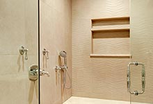1216-Raleigh-Glenview - Master Bathroom Shower Detail - Globex Developments Custom Homes