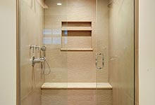 1216-Raleigh-Glenview - Master Bathroom Shower - Globex Developments Custom Homes
