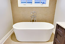 1216-Raleigh-Glenview - Master Bathroom Tub - Globex Developments Custom Homes