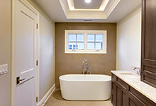 1216-Raleigh-Glenview - Master Bathroom View - Globex Developments Custom Homes