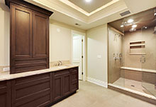 1216-Raleigh-Glenview - Master Bathroom - Globex Developments Custom Homes