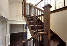 1216-Raleigh-Glenview - Staircase Detail - Globex Developments Custom Homes