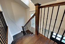 1216-Raleigh-Glenview - Staircase Top - Globex Developments Custom Homes