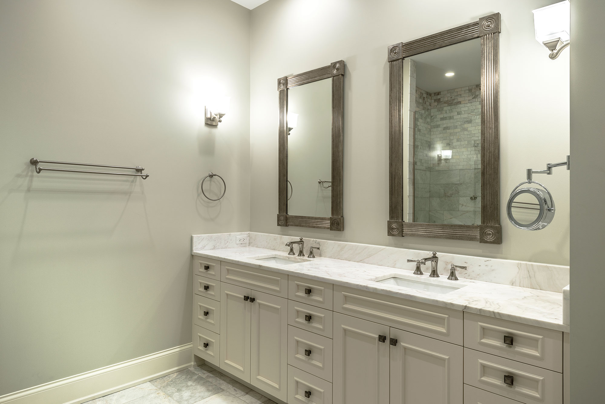 Master Bathroom Vanity And Paint Grade Mdf Door Classic Open