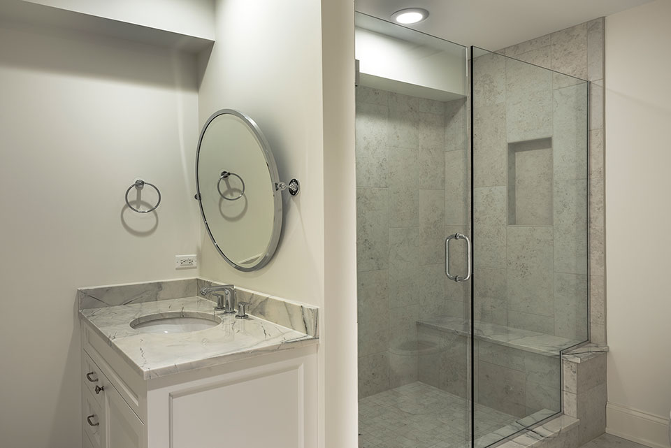 1233-Heather-Lane-Glenview - Basement-Bathroom - Globex Developments Custom Homes