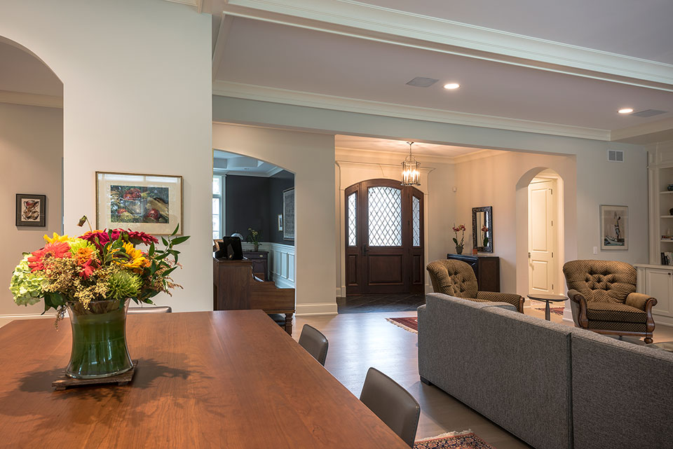 1233-Heather-Lane-Glenview - Breakfast Table, Front Doors  - Globex Developments Custom Homes