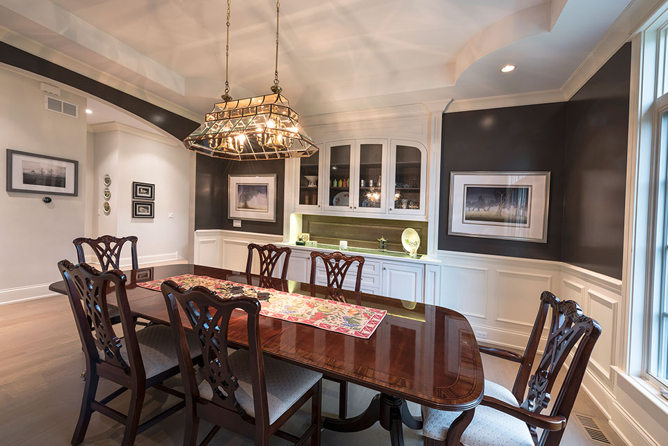 1233-Heather-Lane-Glenview - Dining-Room-Table-View - Globex Developments Custom Homes