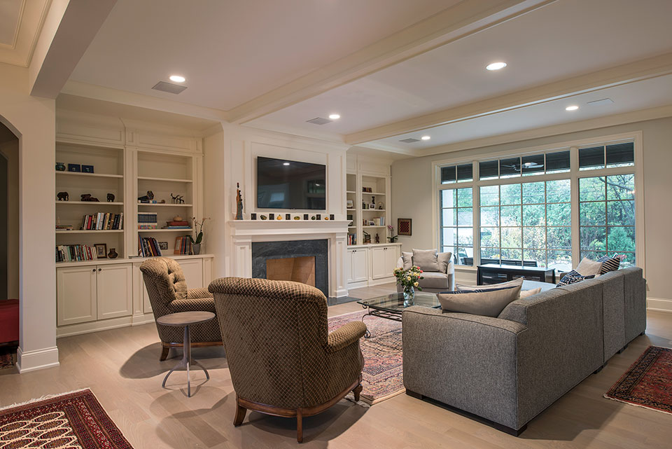 1233-Heather-Lane-Glenview - Family-Room - Globex Developments Custom Homes