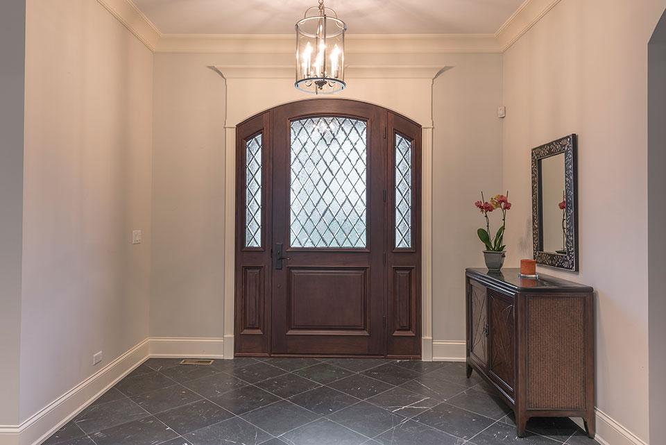 1233-Heather-Lane-Glenview - Front Door Foyer - Globex Developments Custom Homes