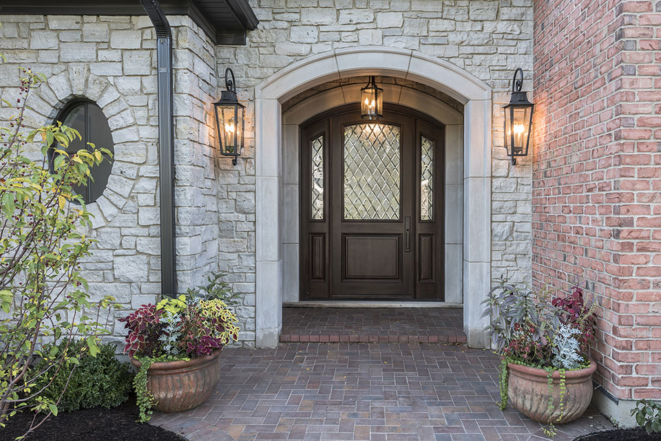 1233-Heather-Lane-Glenview - Front-Door - Globex Developments Custom Homes
