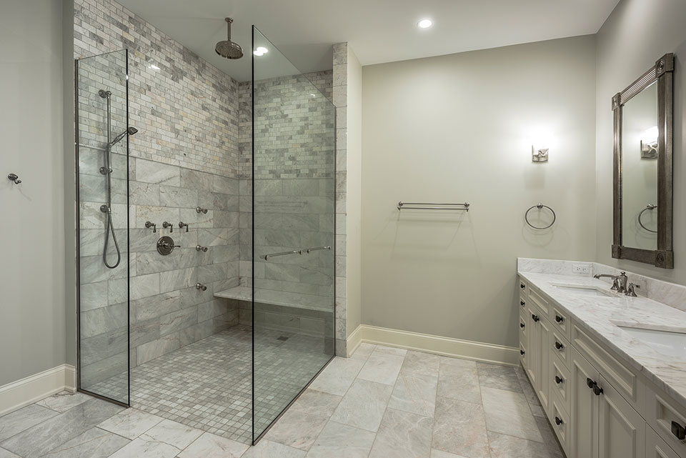 1233-Heather-Lane-Glenview - Master-Bathroom - Globex Developments Custom Homes