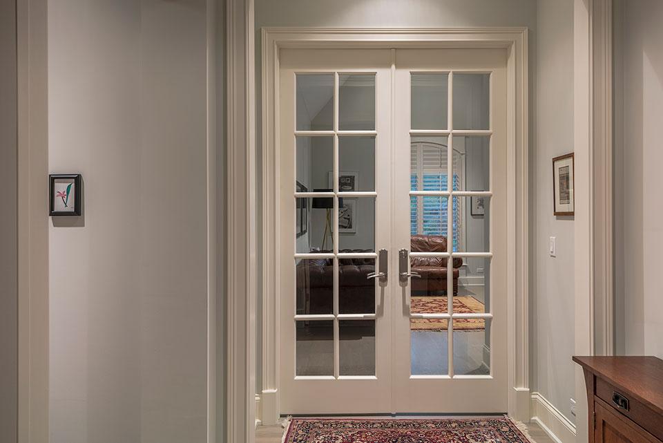 1233-Heather-Lane-Glenview - Office Double Door - Globex Developments Custom Homes