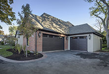 1233-Heather-Lane-Glenview - House-Front-Elevations,-Garage-Doors-View - Garage Door Gallery