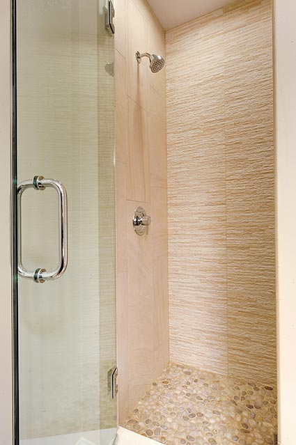 124-Berry-Park-Ridge - Basement-Bathroom-Shower - Globex Developments Custom Homes