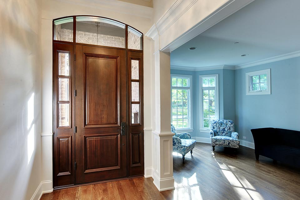 124-Berry-Park-Ridge - Entry-Door-Walkway - Globex Developments Custom Homes