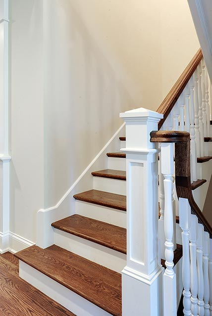 124-Berry-Park-Ridge - Staircase-Detail - Globex Developments Custom Homes