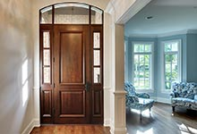 124-Berry-Park-Ridge - Entry-Door-Interior - Globex Developments Custom Homes