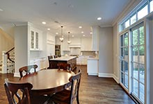 124-Berry-Park-Ridge - Kitchen-Patio-Entrance - Globex Developments Custom Homes