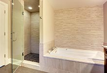 124-Berry-Park-Ridge - Master Bathroom Shower View - Globex Developments Custom Homes