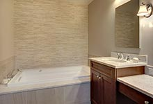 124-Berry-Park-Ridge - Master Bathroom Tub - Globex Developments Custom Homes