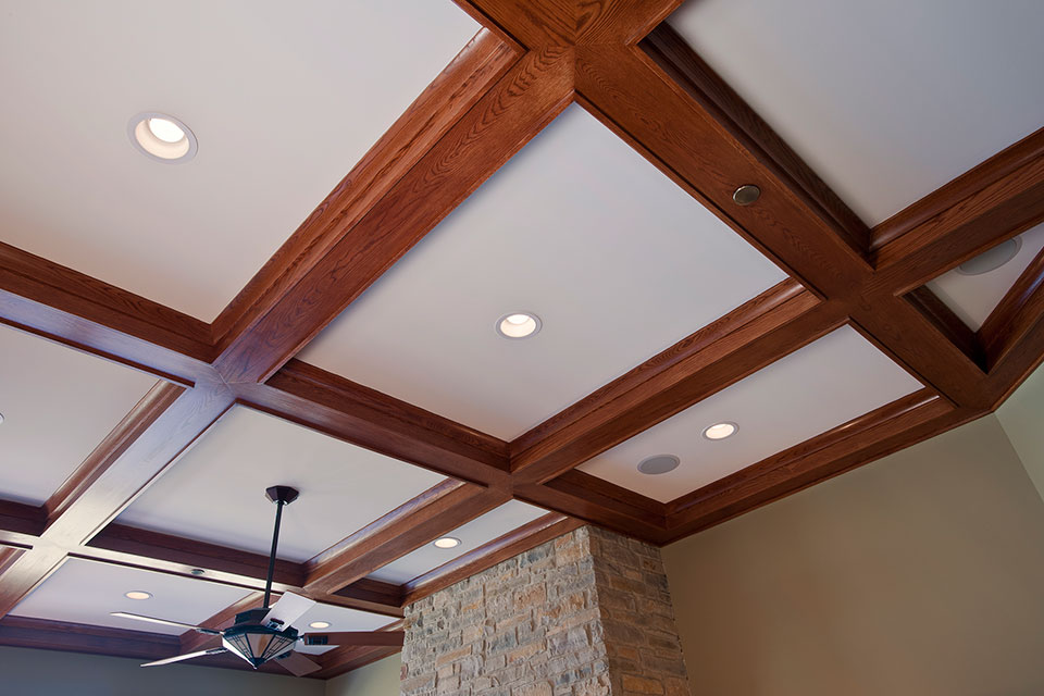 14-Casa - FamilyRoom-Ceiling - Globex Developments Custom Homes