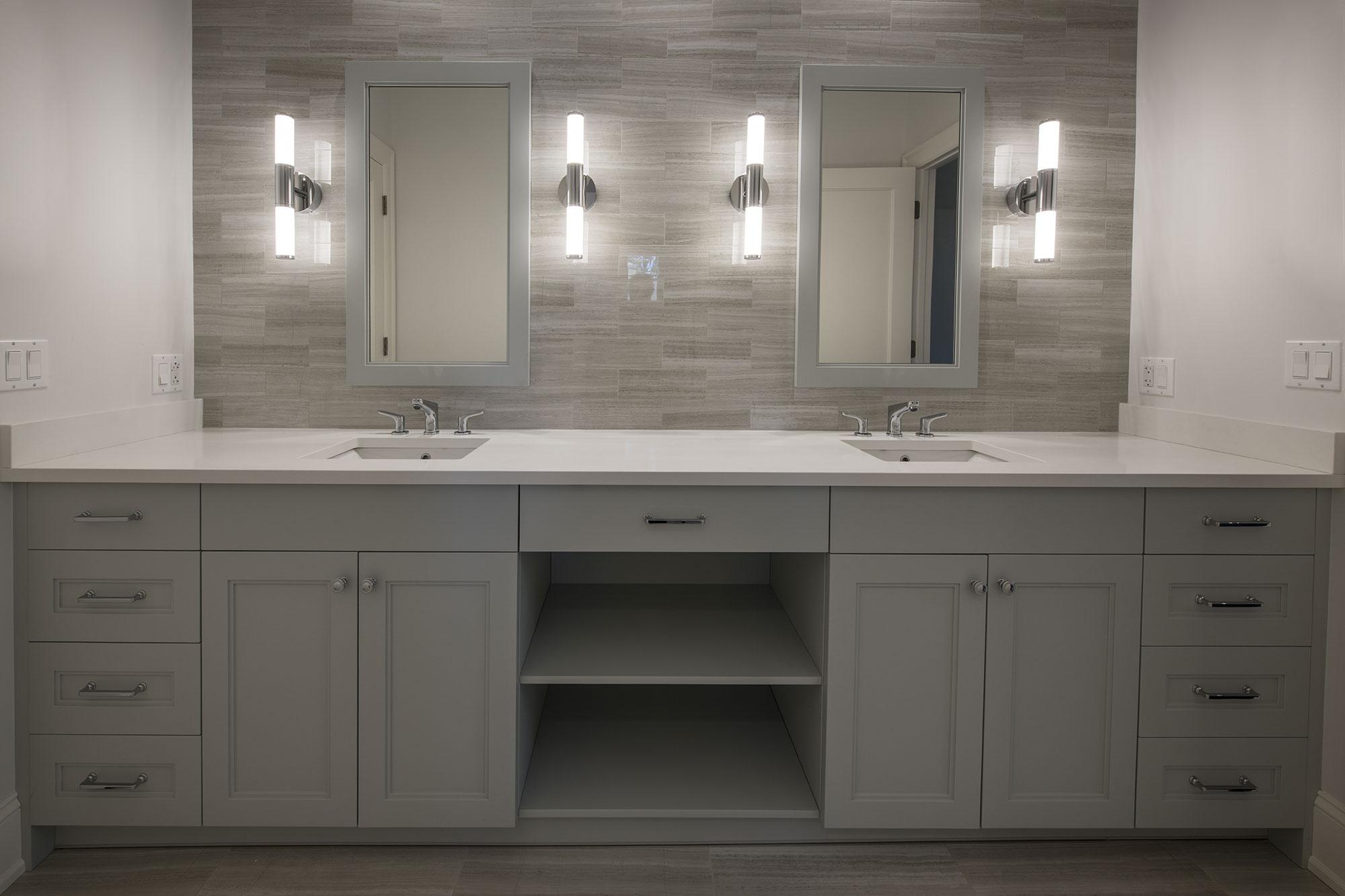 Classic Bathroom Custom Cabinet Gallery Modern Cabinets By Ernestrust