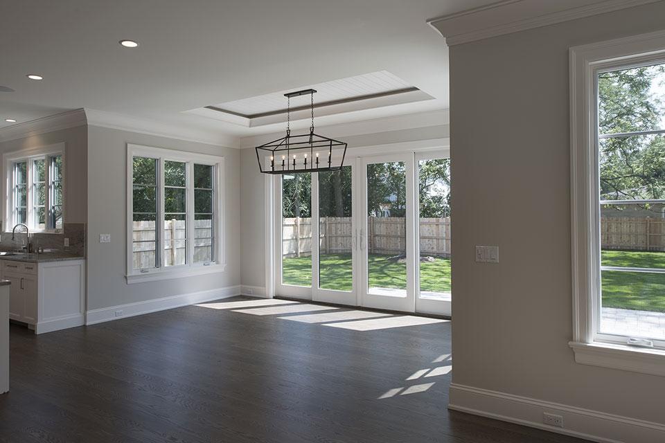 1429-Pleasant-Glenview - Breakfast Area, Patio Door - Globex Developments Custom Homes