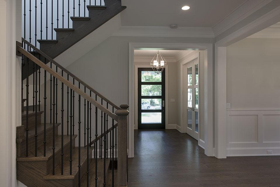 1429-Pleasant-Glenview - Entrance, Stairs, Front Door - Globex Developments Custom Homes