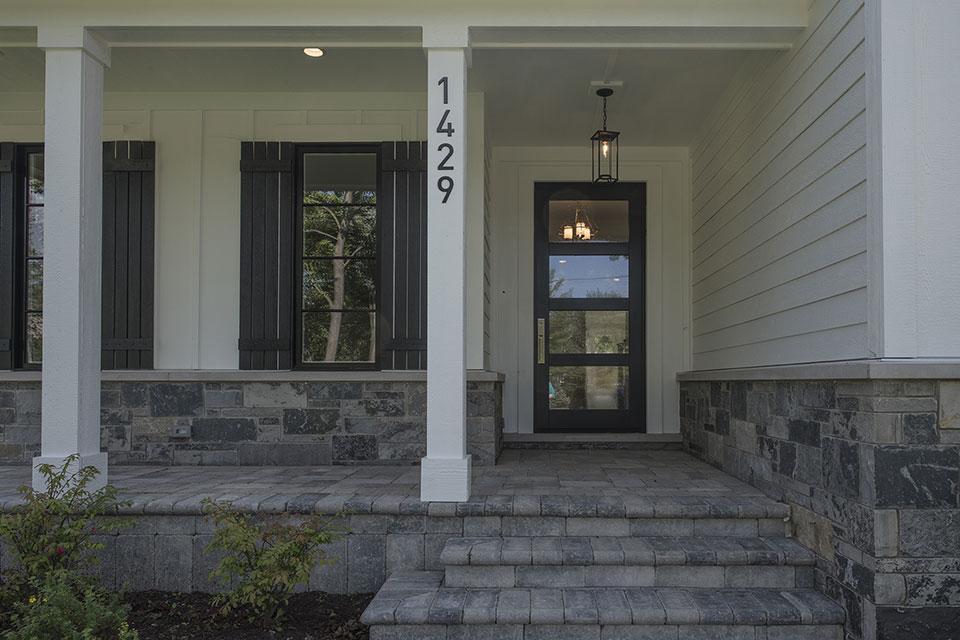 1429-Pleasant-Glenview - Front Doors - Globex Developments Custom Homes