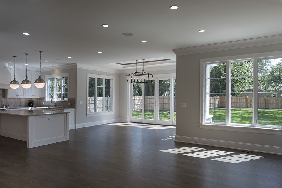 1429-Pleasant-Glenview - Kitchen, Breakfast Area, Family Room - Globex Developments Custom Homes