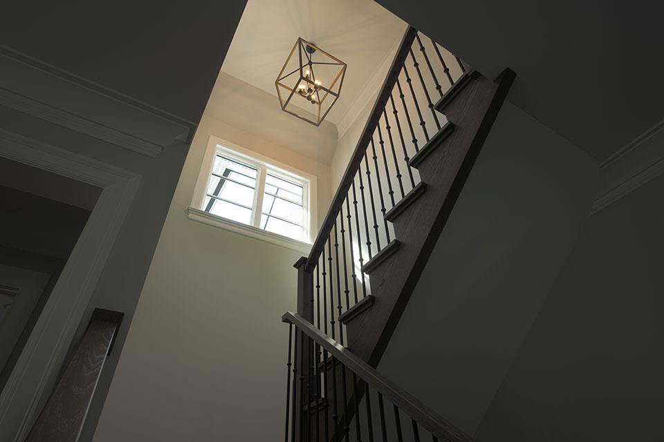 1429-Pleasant-Glenview - Stairs, View Up - Globex Developments Custom Homes