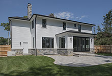 1429-Pleasant-Glenview - Back Elevations, Backyard - Globex Developments Custom Homes