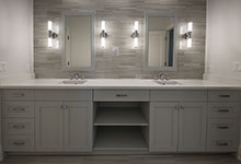 1429-Pleasant-Glenview - Bathroom, Custom Vanity Cabinets - Globex Developments Custom Homes