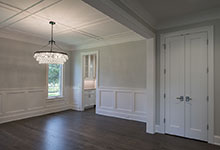 1429-Pleasant-Glenview - Dining Room, Interior Double Doors, Paint Grade - Globex Developments Custom Homes