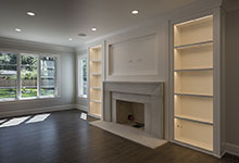 1429-Pleasant-Glenview - Family Room, Fireplace - Globex Developments Custom Homes