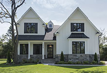 1429-Pleasant-Glenview - Front Elevations - Globex Developments Custom Homes
