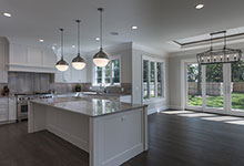 1429-Pleasant-Glenview - Kitchen, Breakfast Area, Patio Door - Globex Developments Custom Homes