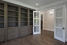 1429-Pleasant-Glenview - Library, Double Doors Openjpg - Globex Developments Custom Homes