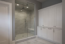 1429-Pleasant-Glenview - Master Bathroom Custom Cabinets, Shower - Globex Developments Custom Homes