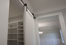 1429-Pleasant-Glenview - Pantry, Barn Door - Globex Developments Custom Homes