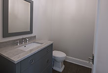 1429-Pleasant-Glenview - Power Room Custom Vanity - Globex Developments Custom Homes