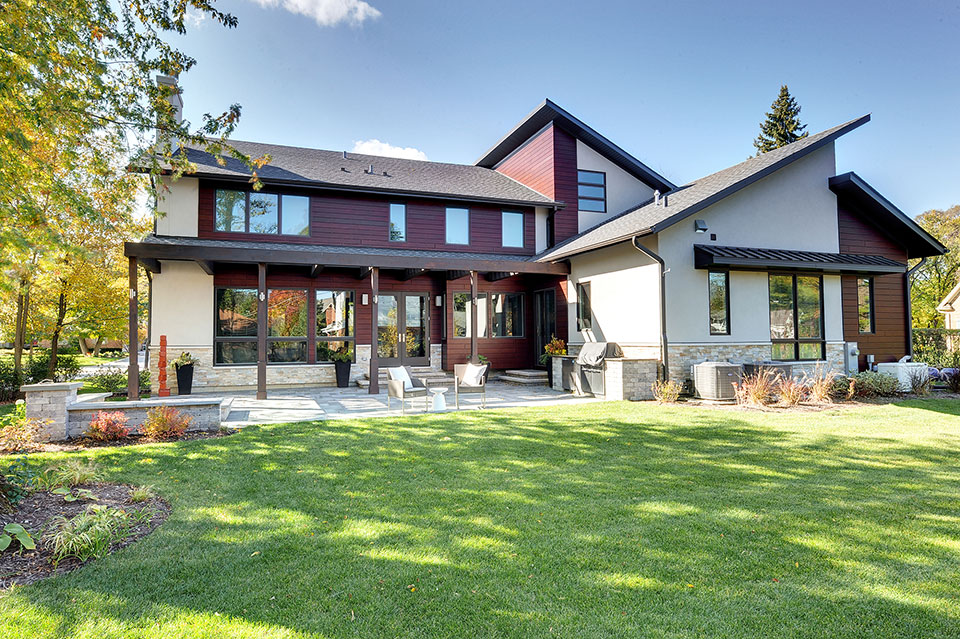 1431-Meadow-Glenview - House-Rear-View - Globex Developments Custom Homes