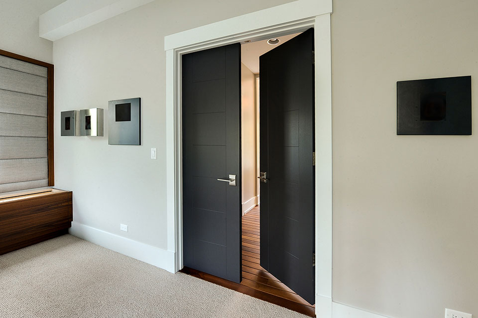 1431-Meadow-Glenview - Master-Bath-Entry-Door - Globex Developments Custom Homes